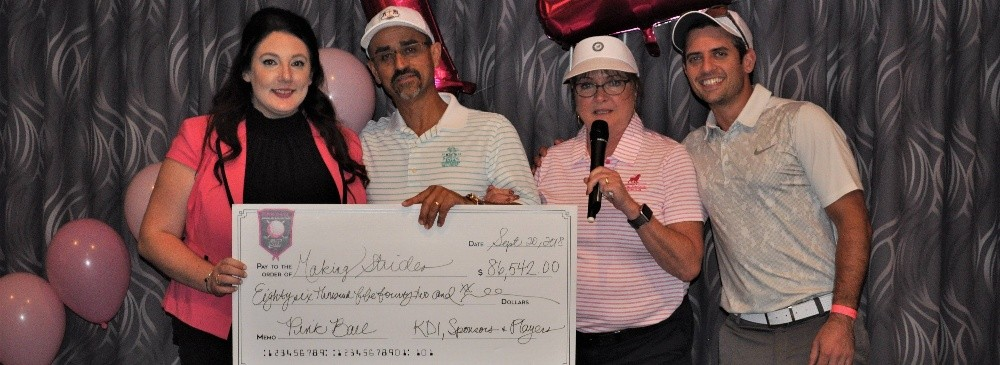 KDI Office Technology Raises Over $86K for Breast Cancer