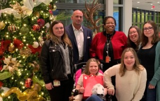 KDI Partners with Nemours, Provides $3000 in Gift Cards to Local Family in Need